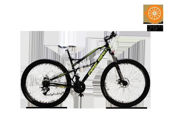 Bicicleta MTB N.29 Doble Suspension Acero  (2) [M2935]