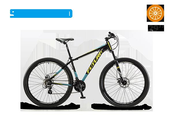 Bicicleta Mtb Pantera Rod 29 Aluminio  (25) [M2966]