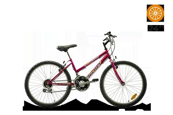 Bicicleta Halley MTB Classic R24 DAMA 18V kids (3) [M2953]