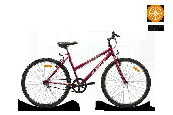 Bicicleta Halley Classic R26 Dama 1 Vel  (5) [M2952]
