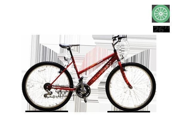 Bicicleta Halley MTB R26 Dama 18V BIN19153 (2) [M2933]