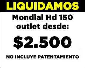 HD 150 0Km Outlet 2011 2da Selecci�n para restaurar