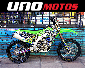 Kawasaki Kx 450 F Inyection 2012 Con 14hr de Uso