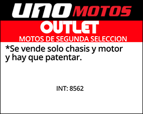 Md 125 k Outlet Int 8562 Chasis y motor