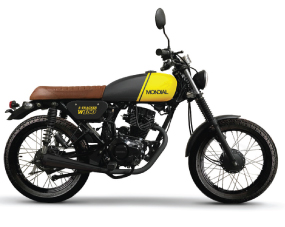 W 150 Tracker Cafe Racer Amarillo