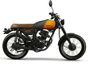 W 150 Tracker Cafe Racer