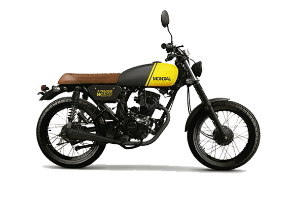 W 150 Tracker Cafe Racer Amarillo (1)