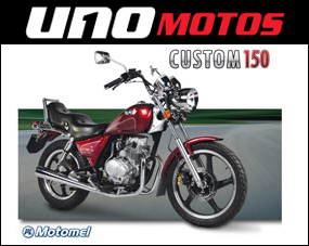 Custom 150cc Chopera Motomel