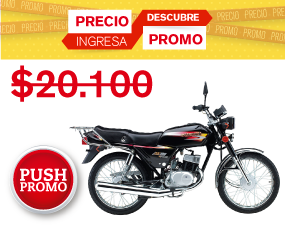 Suzuki AX 100 Negro