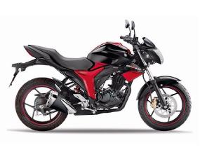 Suzuki Gixxer GSX 150 Roja y Negra
