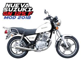 Suzuki GN 125 Blanco - Azul