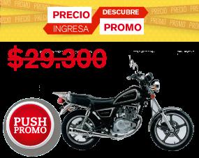 Suzuki Gn 125 Negro