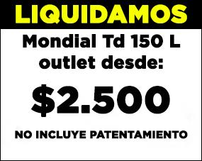 TD 150 0Km Outlet 2011 2da Selecci�n para restaurar